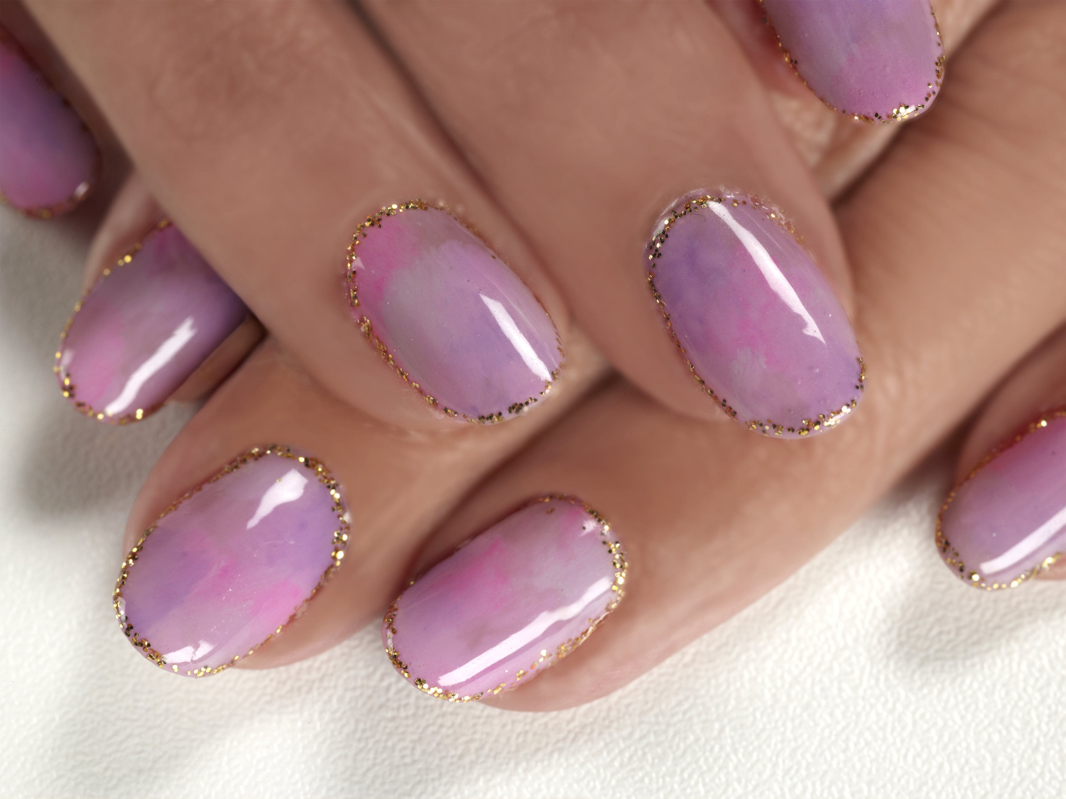 Tie Dye Nail Art Tip Voor De Feestdagen Xandraa Nailcare