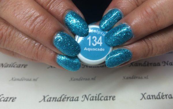 Turquoise glitter