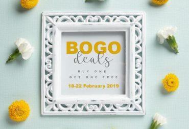 BOGO week 18-22 februari